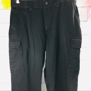 5.11 Tactical Series Black Cargo Pants 36
